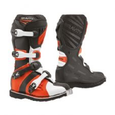 New 2020 Youth Forma Gravity Boots Motocross Enduro BLACK/ORANGE
